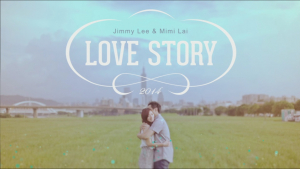 影片截圖:Jimmy+Mini Love Story