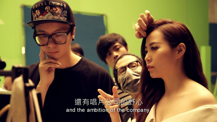 影片截圖:Jane Zhang.Dust My Shoulders Off (Behind the Scenes)